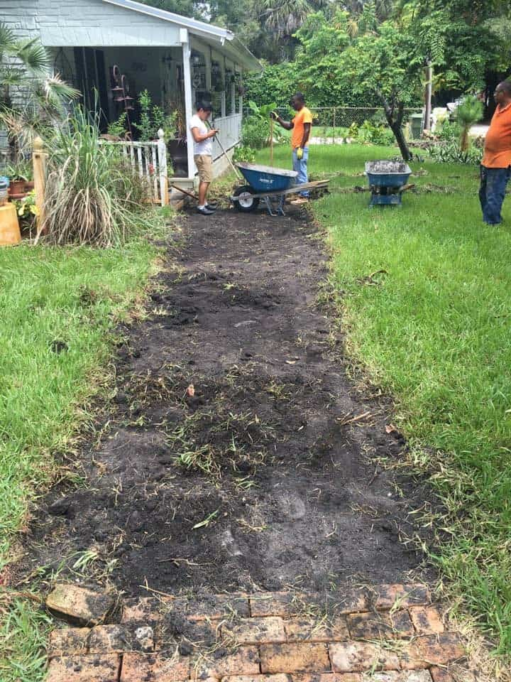 Paving installation service Jacksonville