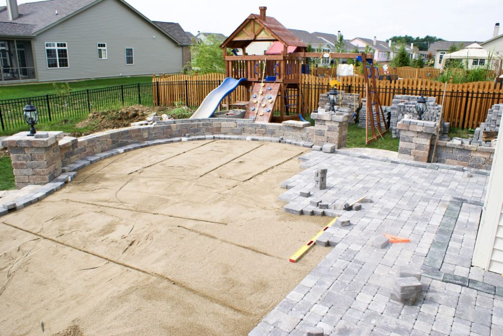 Paving installation service